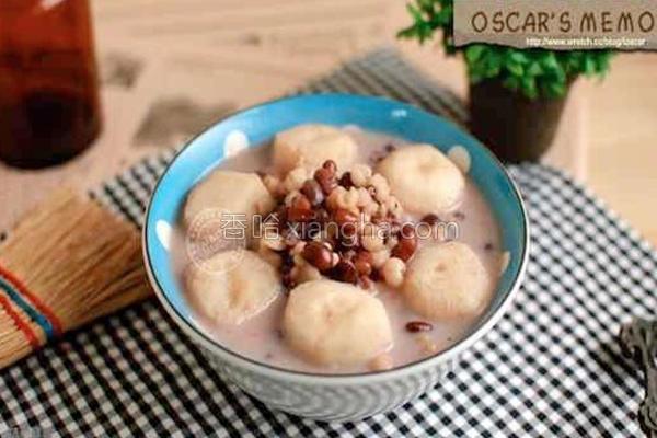 红豆薏仁露的做法