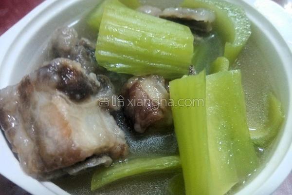 芥菜排骨酥汤的做法