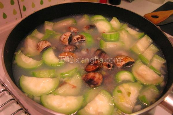 丝瓜蛤蛎汤的做法