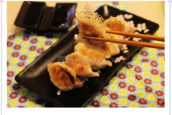 黄金煎饺的做法