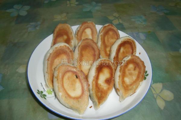 麦穗煎包的做法