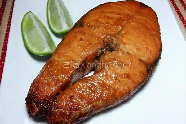 蜂蜜味噌烤鲑鱼的做法