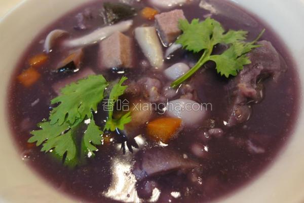 紫心地瓜粥的做法