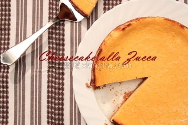 南瓜乳酪蛋糕的做法