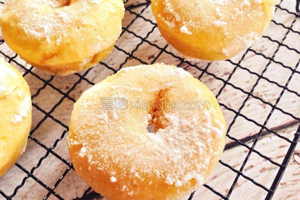 地瓜甜甜圈的做法