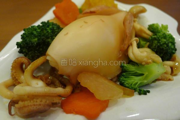 起司海鲜饭的做法