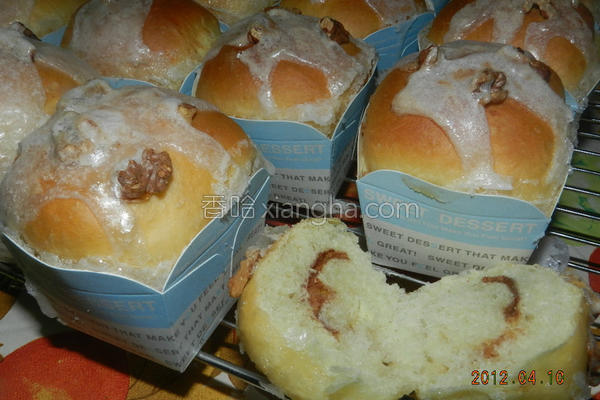肉桂面包卷的做法