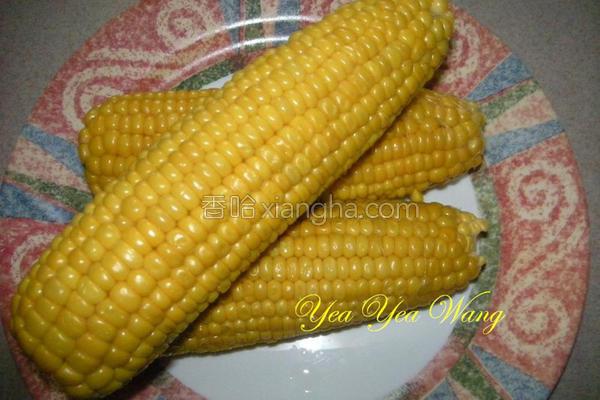 甜玉米的做法