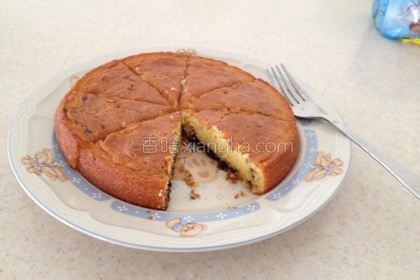 香橙朱古力蛋糕的做法