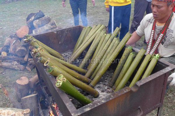 竹筒饭的做法