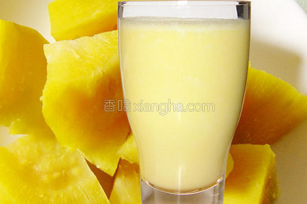 黄金地瓜蜜奶的做法