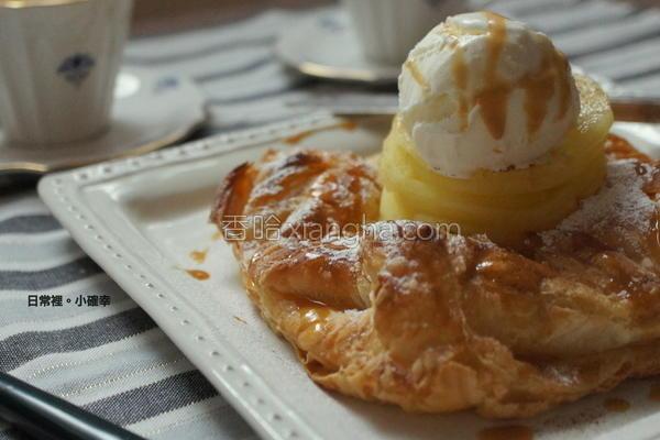 焦糖冰淇淋苹果派的做法