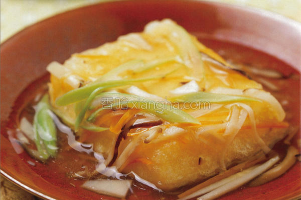 干贝豆腐的做法