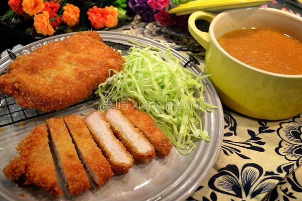 咖喱酥炸猪排的做法