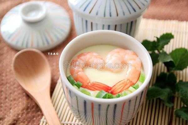 奶香茶碗蒸的做法