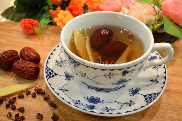 花椒红枣生姜茶的做法