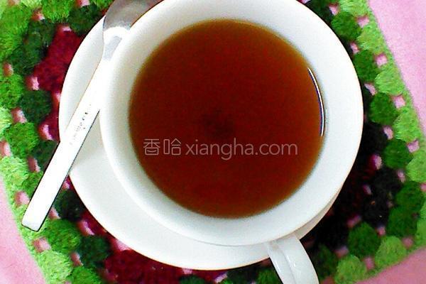 茴香姜茶的做法
