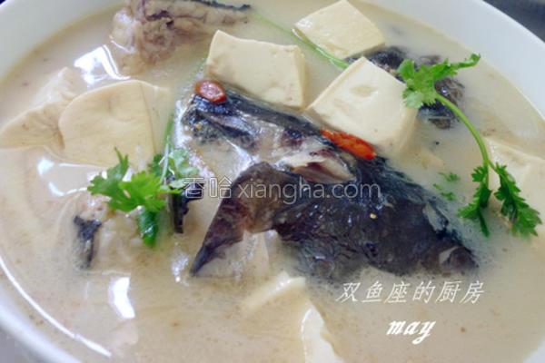 超鱼头豆腐汤的做法