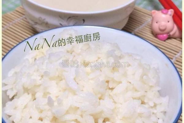 豆浆饭的做法