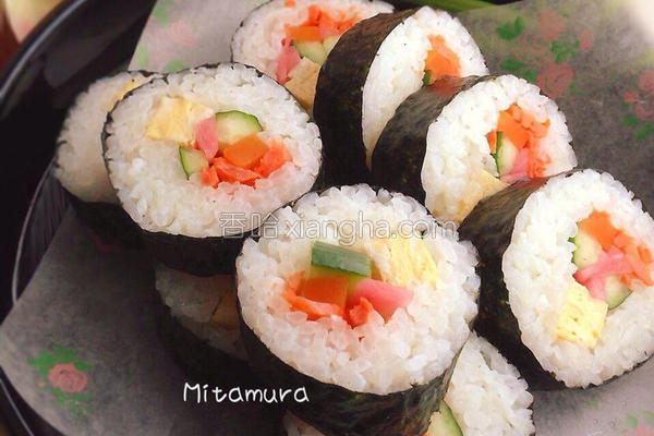 日式海苔寿司卷的做法