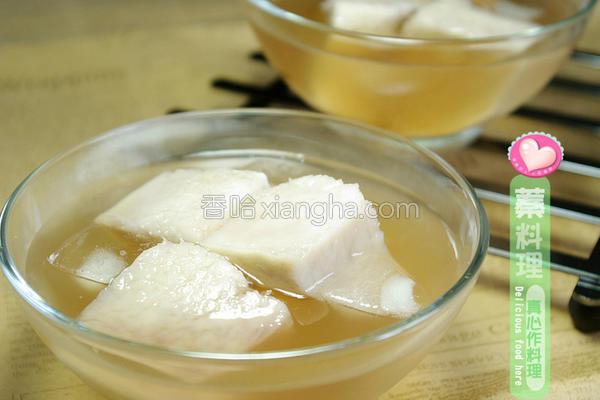 冰凉蜜芋头的做法