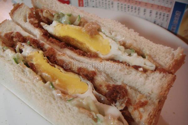 脆口三明治的做法