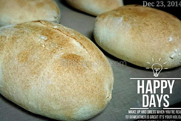 法国小胖面包的做法