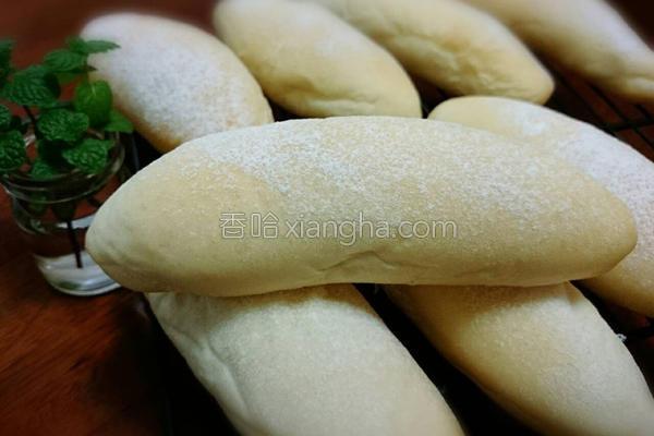 松软白面包的做法