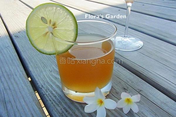 自制柠檬冬瓜茶的做法