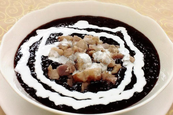 港式芋香紫米的做法