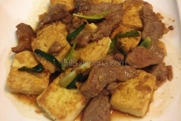 酱烧豆腐肉枊的做法