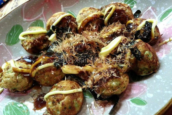 日式章鱼丸子的做法