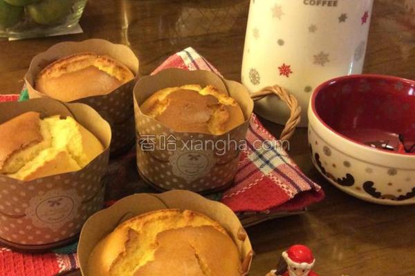 柳橙蜂蜜戚风蛋糕的做法