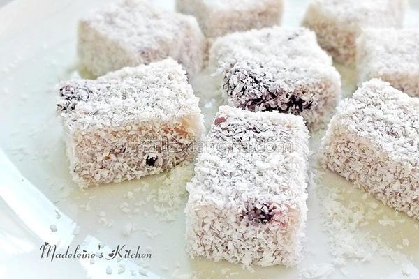 椰奶藕粉凉冻的做法