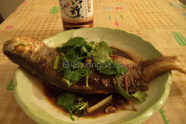 葱烧黄鱼的做法