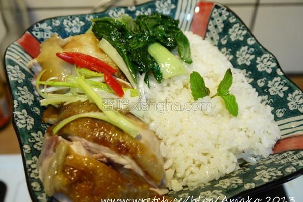 超简易海南鸡饭的做法