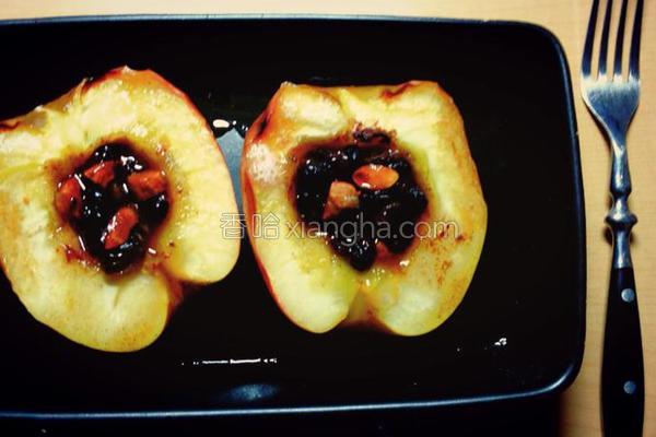 烤蜜苹果的做法