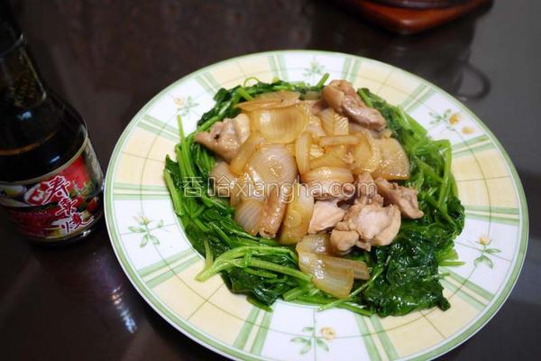 寿喜洋葱鸡的做法