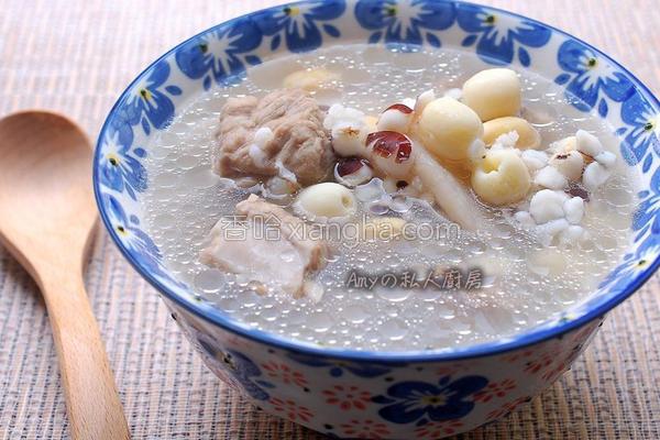 四神排骨汤的做法