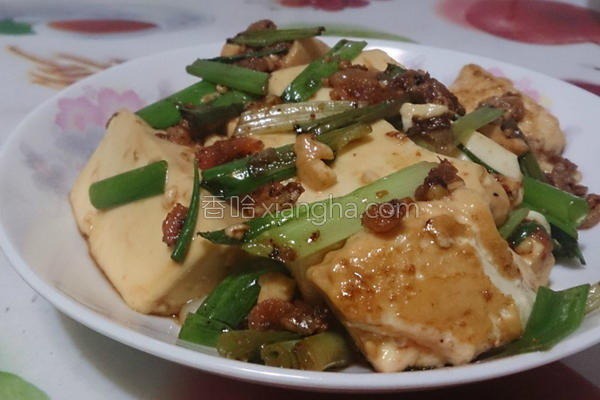 家常懒人烧豆腐的做法