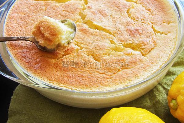 柠檬布丁蛋糕的做法