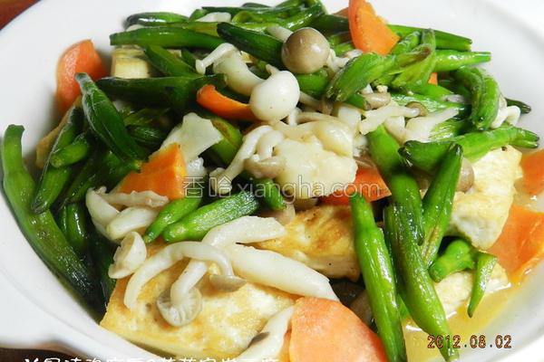 菇菇家常豆腐的做法