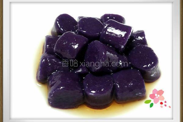 蜂蜜紫薯QQ圆的做法