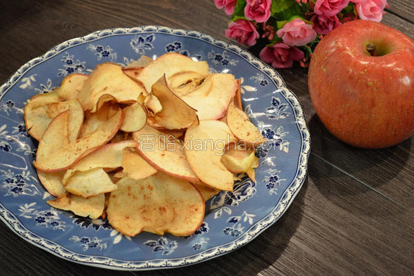 玉桂烤苹果片的做法
