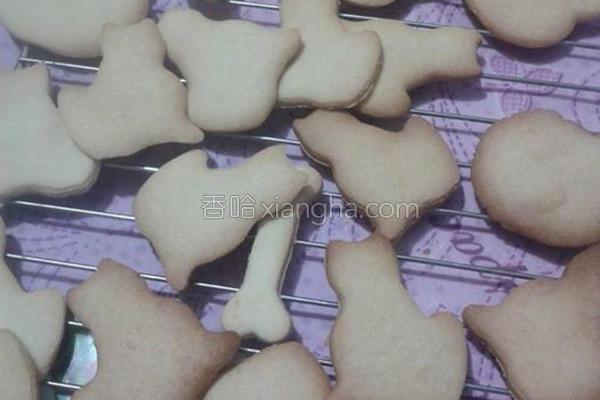 蜂蜜饼干的做法