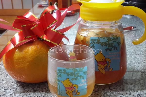 虎头柑水果茶的做法