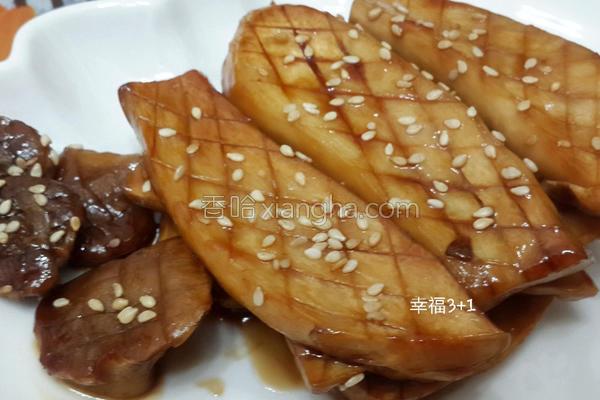 蜜汁杏鲍菇的做法