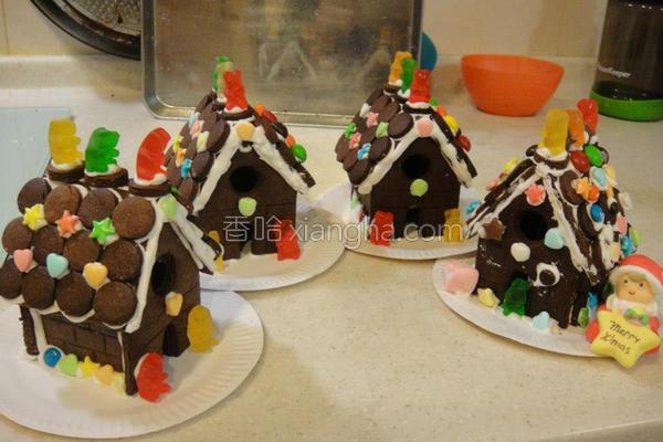 巧克力糖果屋的做法