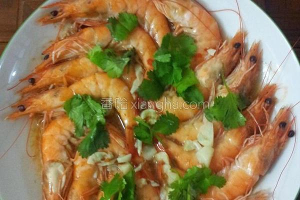 泰式酸辣蒸虾的做法