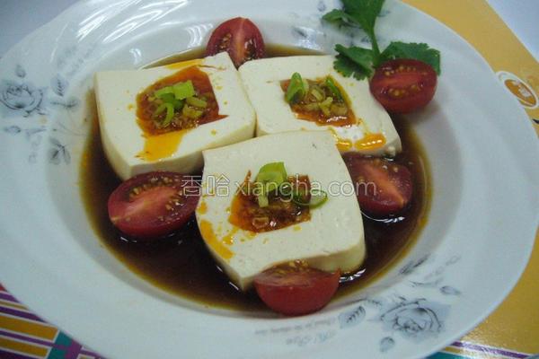 鱼卵辣椒镶豆腐的做法